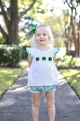 Counting Clovers Bloomer Set