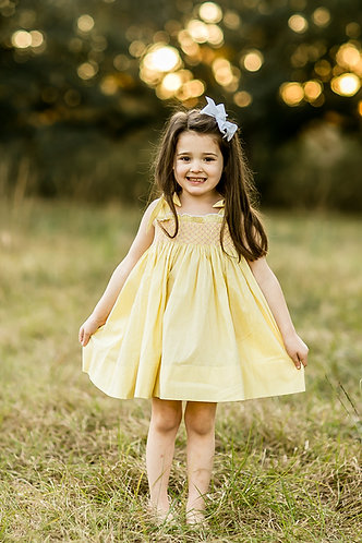 I've Got Sunshine Smocked Dress