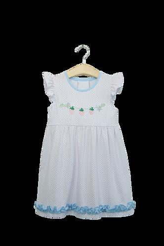 Strawberry Applique Dress