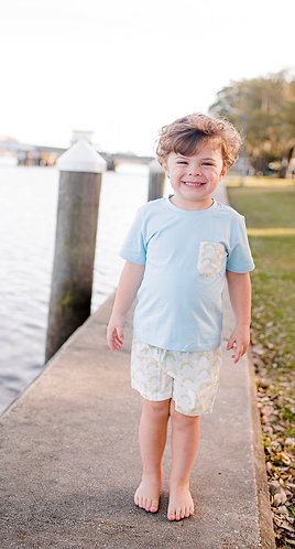 Only Rainbows After Rain Shorts Set