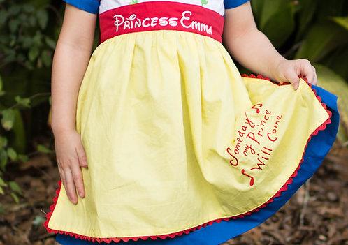 Snow White Inspired Apron
