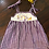 Thumbnail: Game Day Parade Tie Strap Parade Dress - Tiger - purple & gold