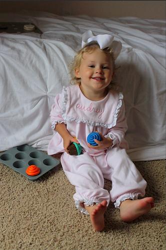 Pink Knit Play Set