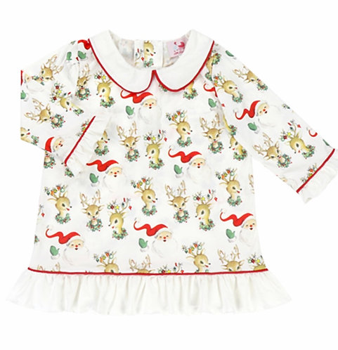 Vintage Reindeer Nightgown