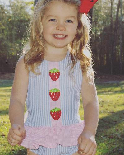 Stella Strawberry Swimwear