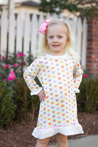 Cajun Candy Heart Gown