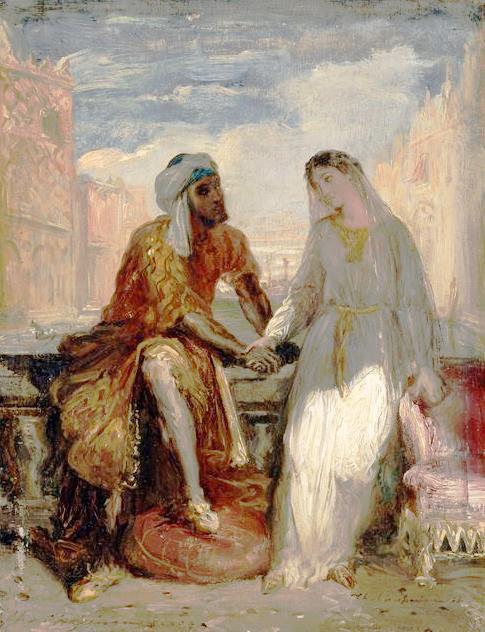Othello y Desdemona