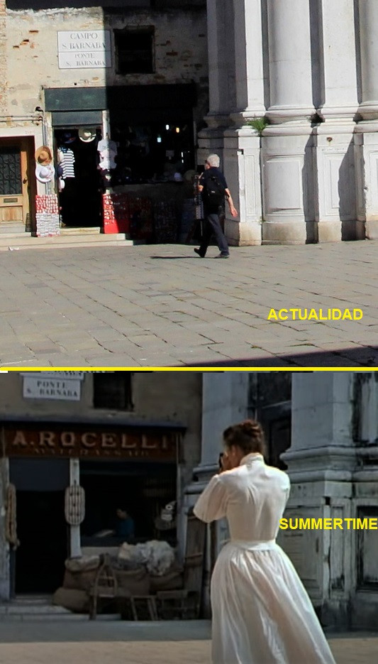 Katharine Hepburn comienza a fotografiar en la plaza