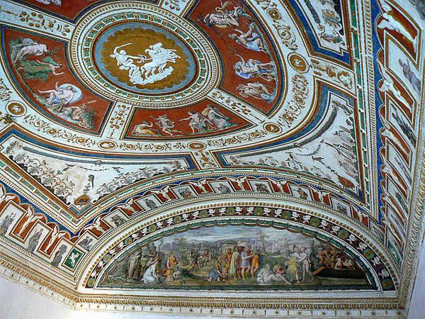 La sala de Apolo. Foto: Paperoastro, CC BY-SA 3.0 <https://creativecommons.org/licenses/by-sa/3.0>, via Wikimedia Commons