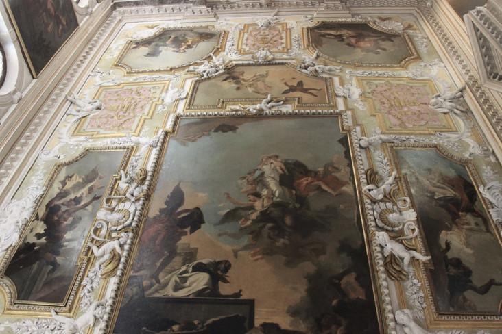 Decoración techo de Tiepolo