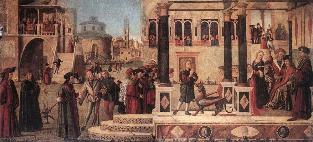 San Trifón doma al basilisco (1507)