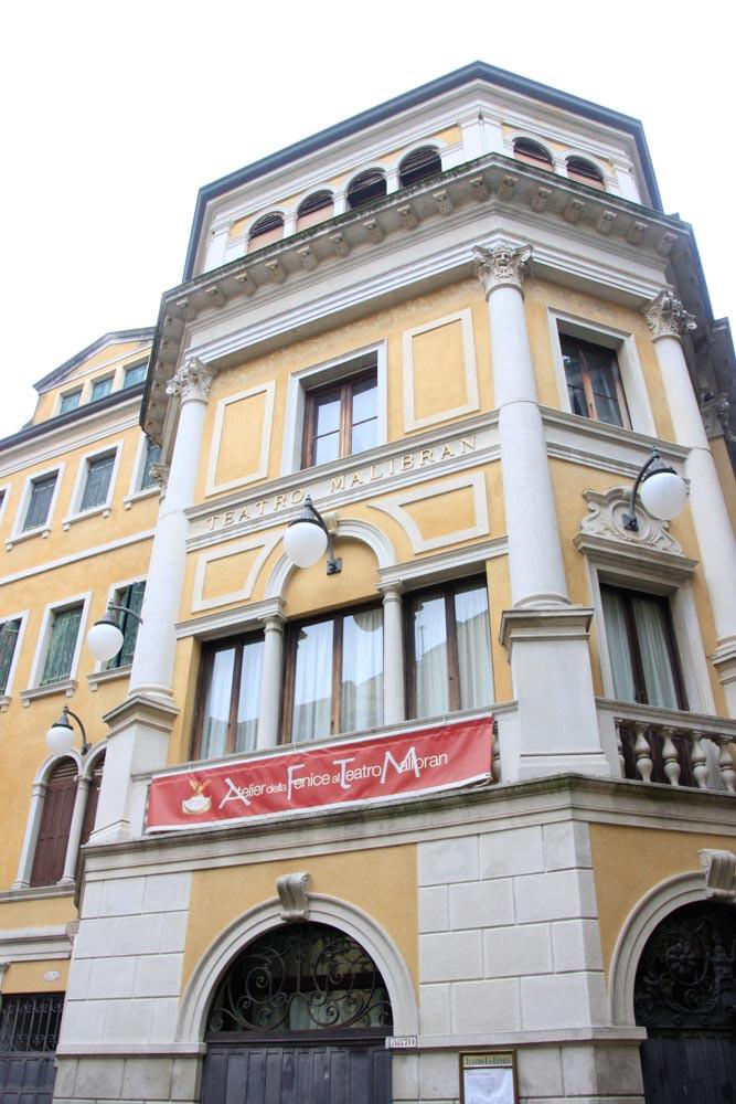 Aquí estaba la casa de Marco Polo, ahora el teatro Malibran