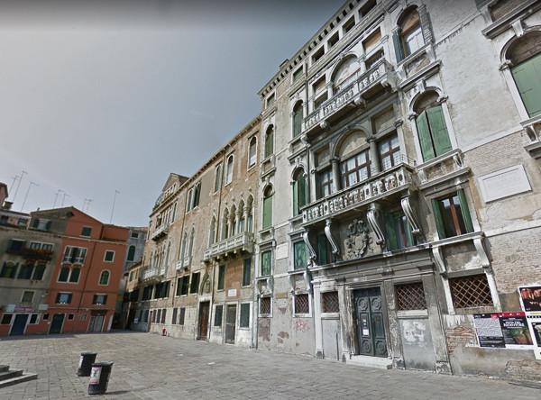 Palacio Molin en campo San Maurizio. Aquí estuvo uno de sus talleres