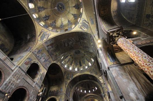 Detalle mosaicos techos