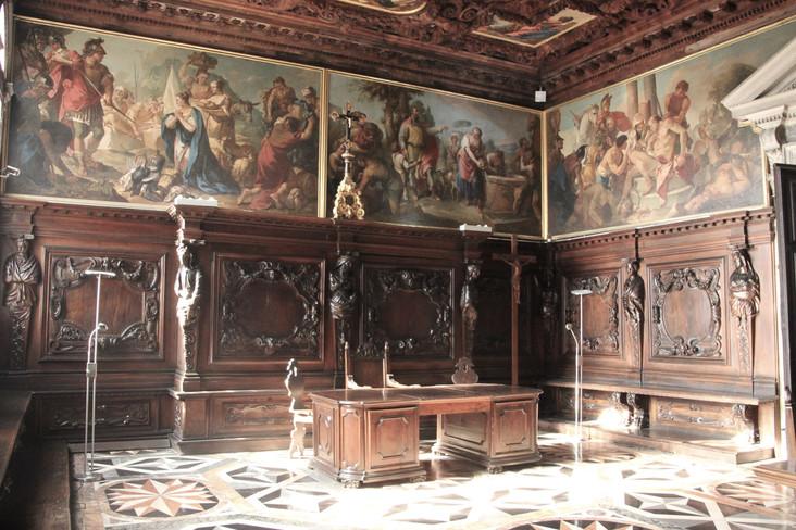 La sala del Archivo