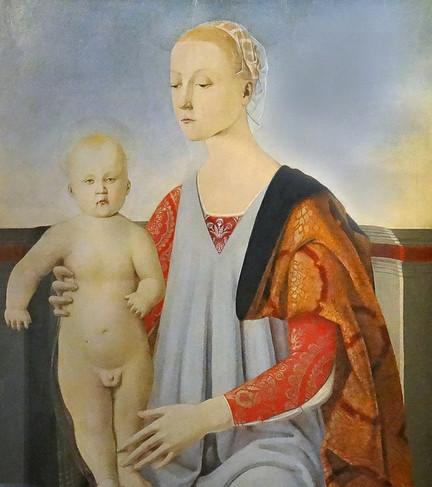 Madonna con il Bambino de Piero Della Francesca