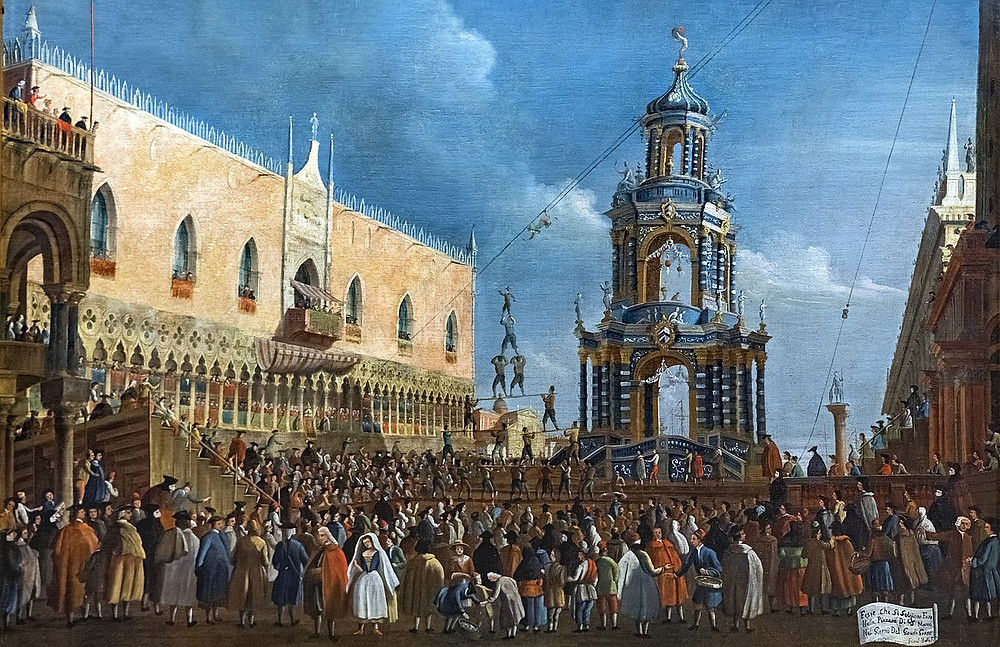 St. Mark's Square, by Gabriel Bella (1779)