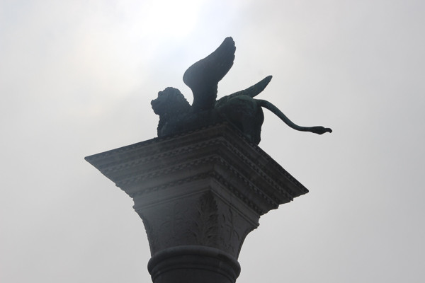 Columna del León alado de San Marcos