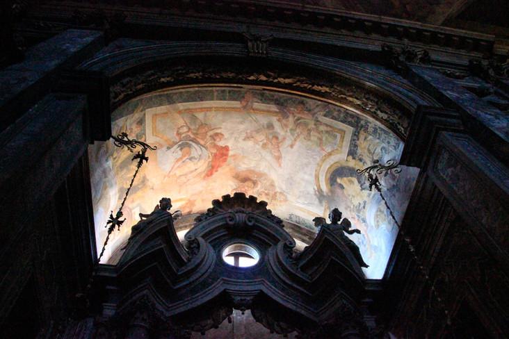 Capilla Lumaca: Cristo en Getsemaní