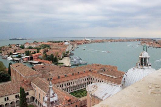 Vista Giudecca desde San Giorgio Maggiore