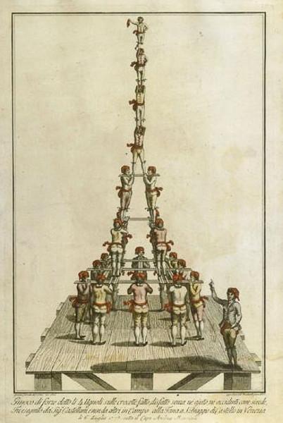 Pirámide de Hércules. Ignacio Colombo, Forze d'Ercole (1816). Bibliothèque Nationale de France (París)