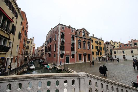 Vista desde el puente dei Frari