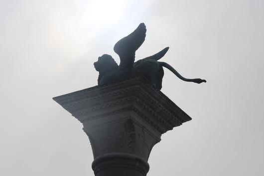 El león alado de San Marcos