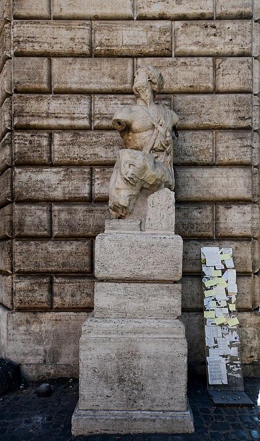 El Pasquino de Roma