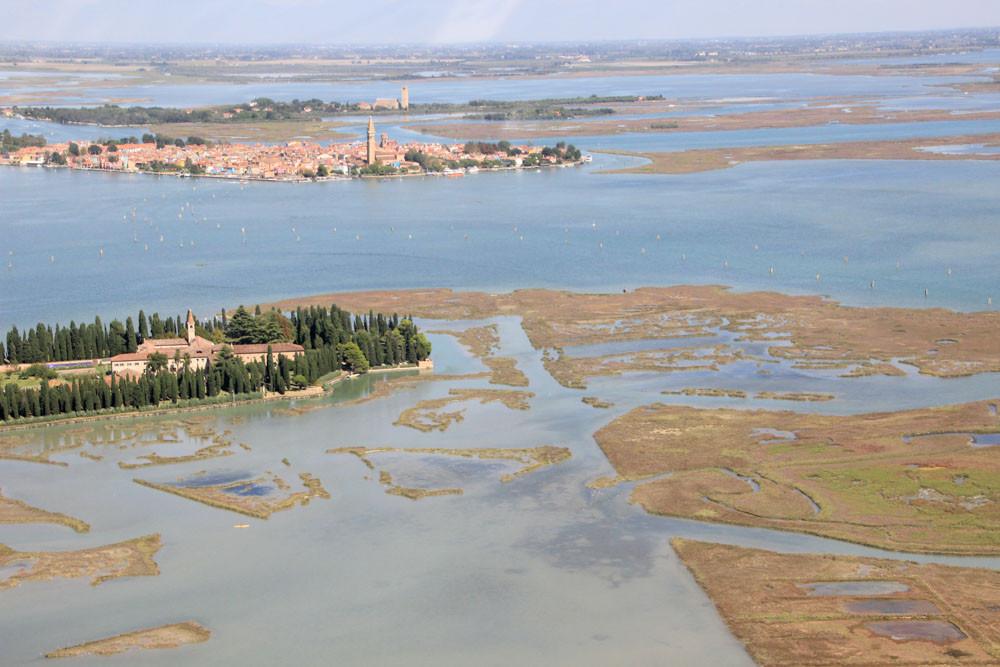 La belleza de la laguna de Venecia
