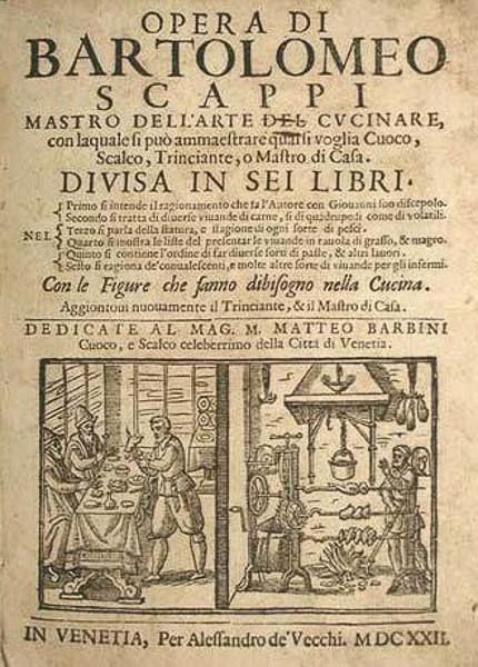 Opera dell'arte dell cucinare (Bartolomeo Scarpi)