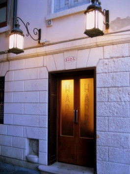 Fachada de Harry's Bar