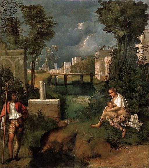 La Tempestad de Giorgione