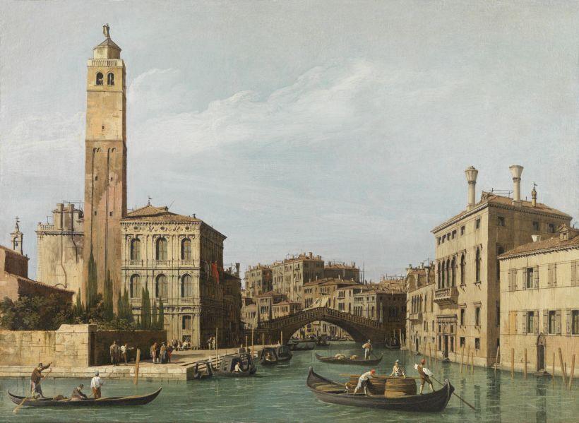 Vista aérea desde el campanario de San Giorgio Maggiore