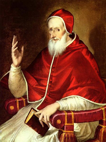 El Papa Pio V