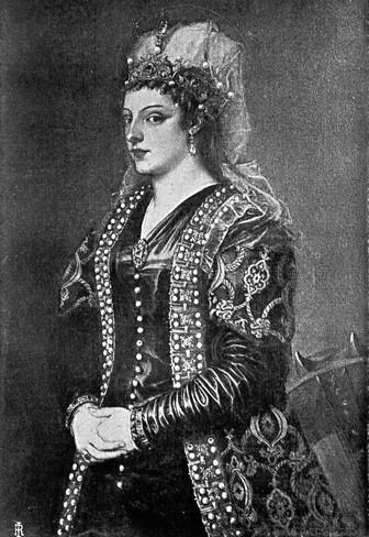 Caterina Corner, reina de Chipre