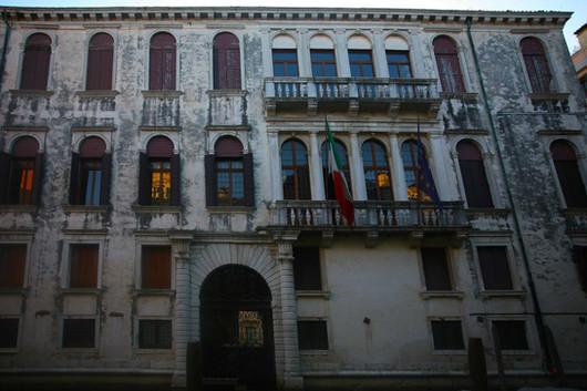 Fachada del Palacio Grimani en la plaza Santa María Formosa