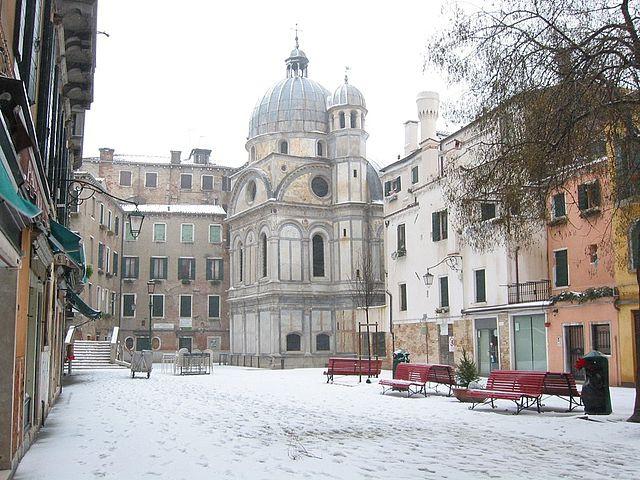 Nieve en Santa Maria de los Milagros