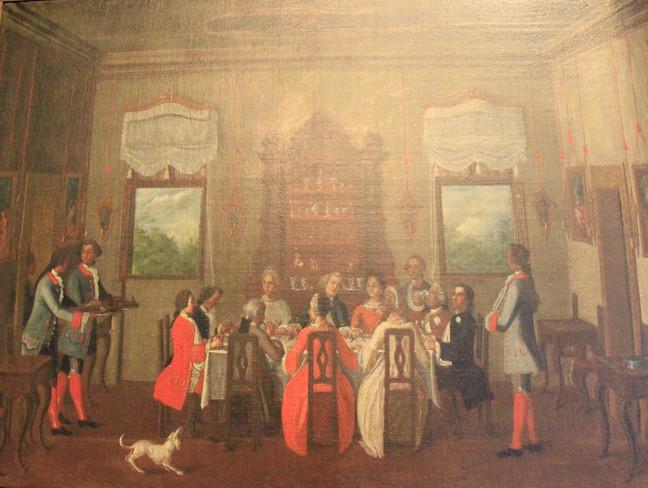 la vida veneciana en el palacio