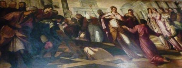 Invenzione de la Croce Tintoretto