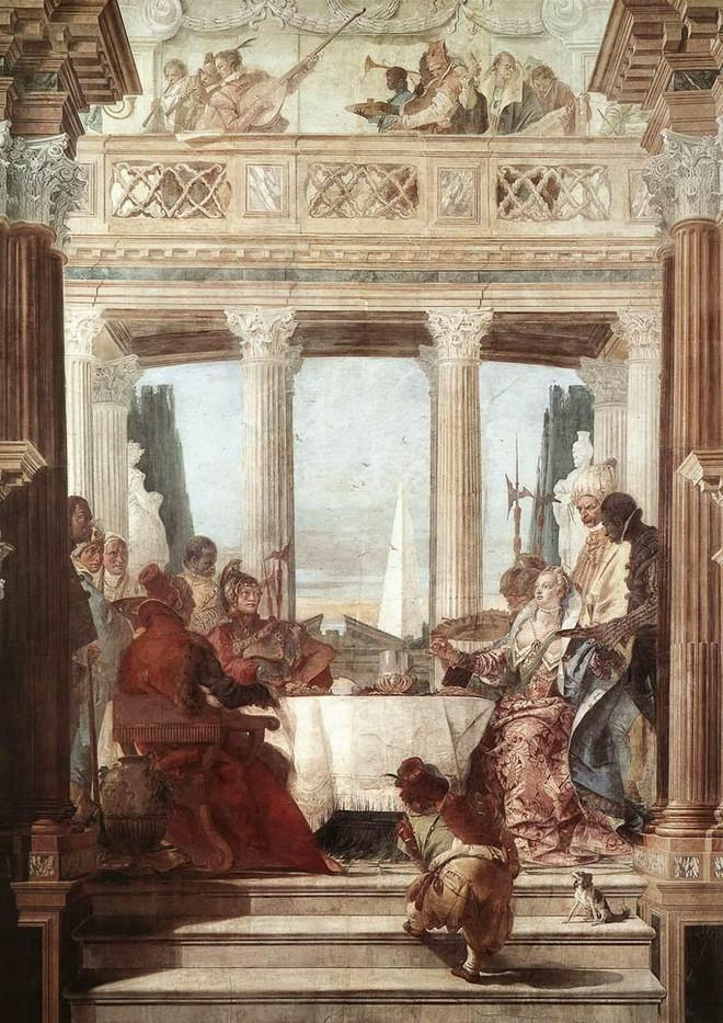 El banquete, Tiepolo
