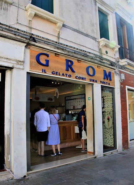 La heladería Grom