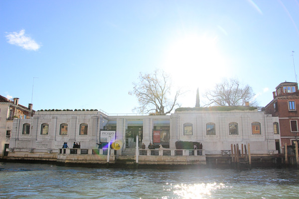 El palacio Venier di Leoni inacabado hoy en día