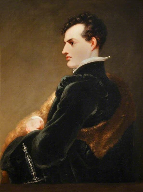 Retrato de Lord Byron