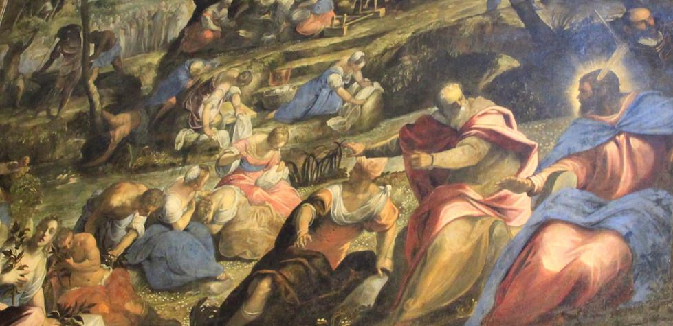 Caída de Mana de Tintoretto