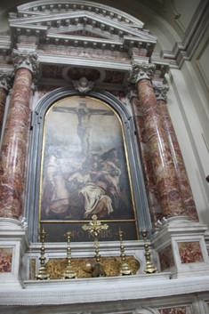 Crucifisión de Tintoretto