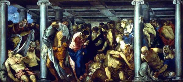 Cristo en la Piscina  Probática