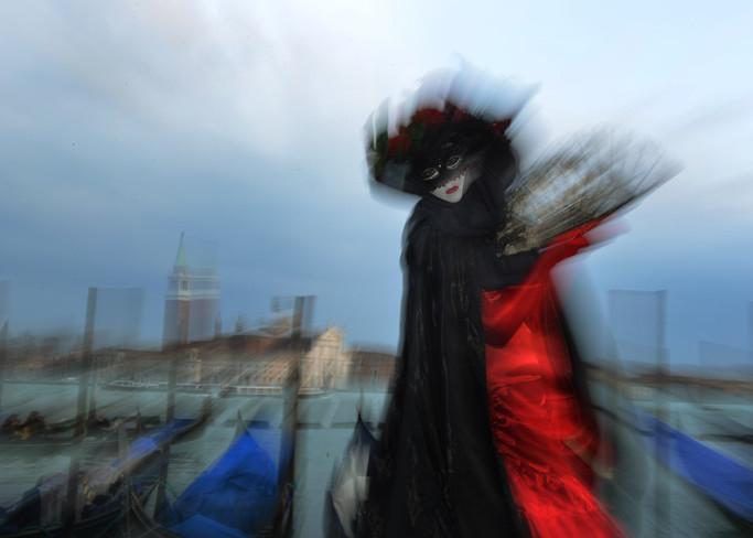Vista abstracta del Carnaval