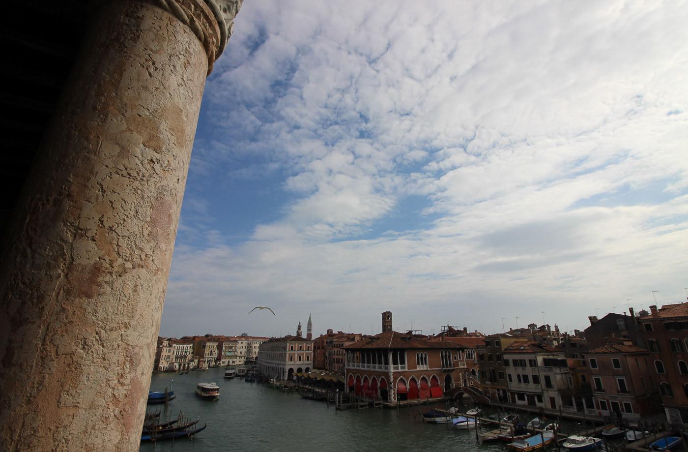 Vistas del Gran Canal desde el palacio