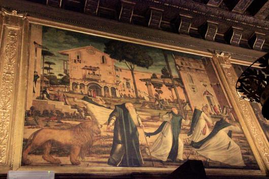 San Jerónimo y El Leon
