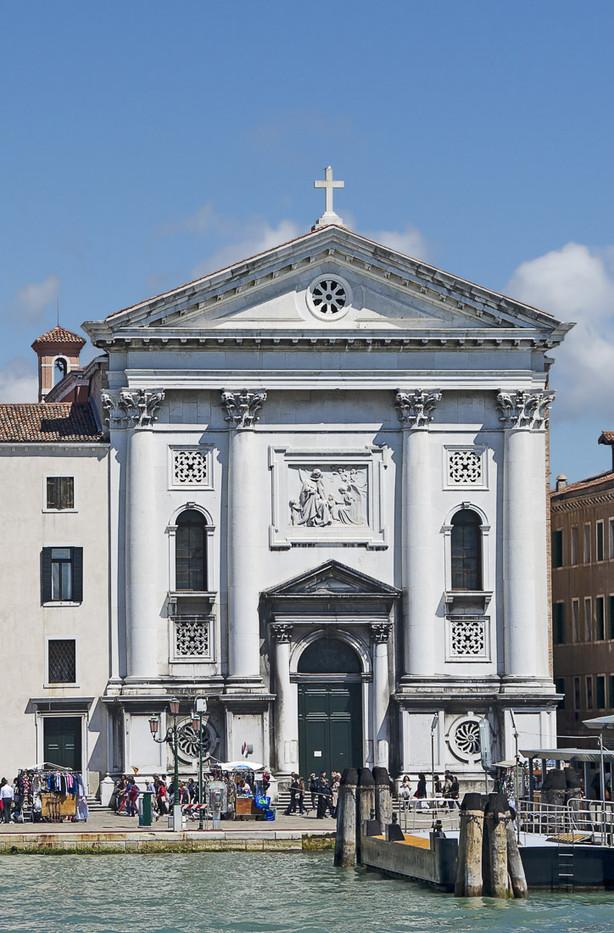 Fachada Iglesia della Pietá